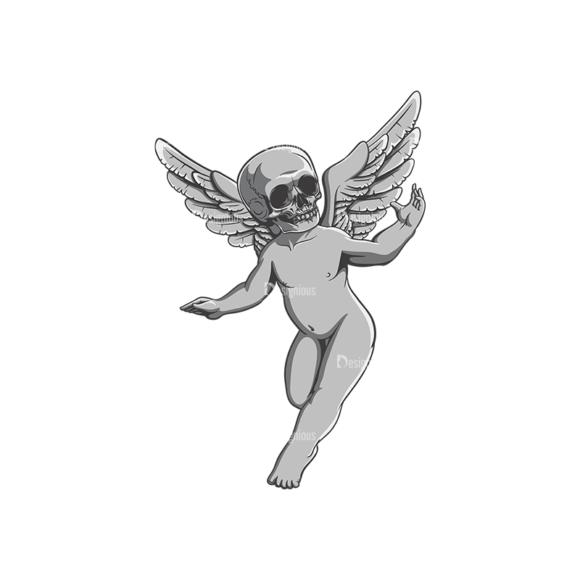 Angels Vector 3 2 Clip Art - SVG & PNG vector