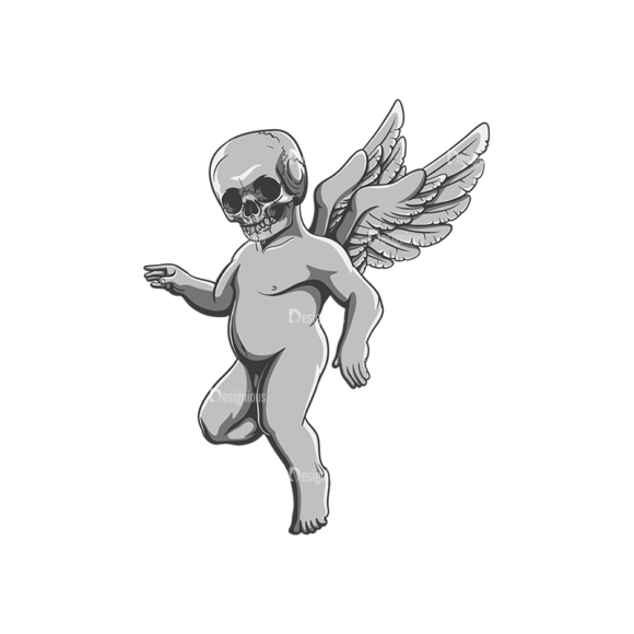 Angels Vector 3 7 Clip Art - SVG & PNG vector