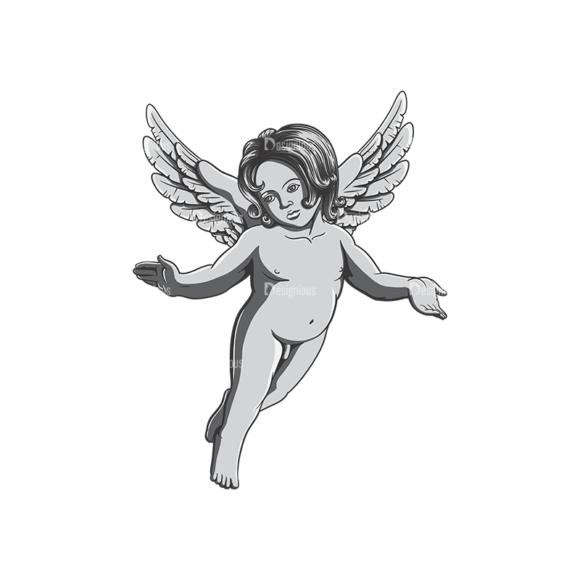 Angels Vector 4 4 Clip Art - SVG & PNG vector