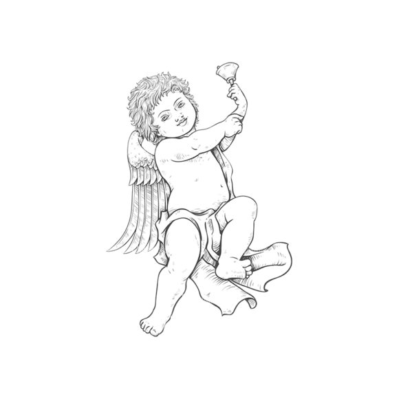 Angels Vector 5 4 Clip Art - SVG & PNG vector