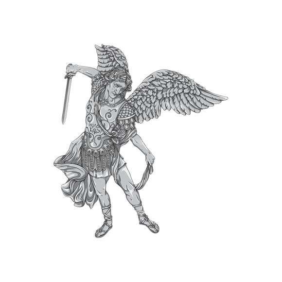 Archangel Vector 1 6 Clip Art - SVG & PNG vector