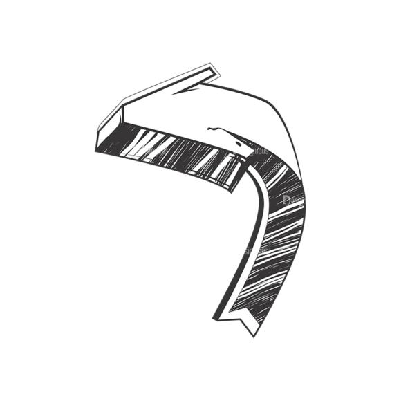 Arrows Pack 1 12 Clip Art - SVG & PNG vector
