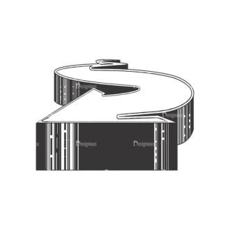 Arrows Pack 2 2 Clip Art - SVG & PNG vector