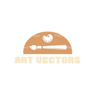 Art Vector Elements Vectorart Logo 02 Clip Art - SVG & PNG vector