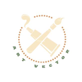 Art Vector Elements Vectorart Logo 03 Clip Art - SVG & PNG vector