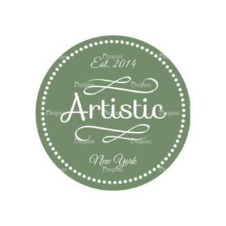 Art Vector Elements Vectorart Logo 04 Clip Art - SVG & PNG vector