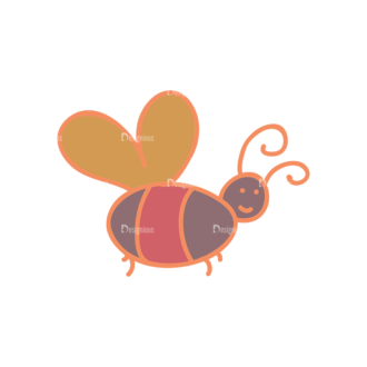 Artist Doodle Vector Set 2 Vector Bee 53 Clip Art - SVG & PNG vector