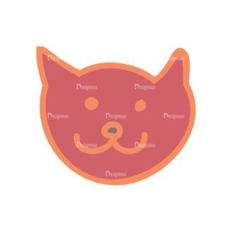 Artist Doodle Vector Set 2 Vector Cat 28 Clip Art - SVG & PNG vector