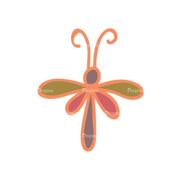 Artist Doodle Vector Set 2 Vector Dragonfly 15 Clip Art - SVG & PNG vector