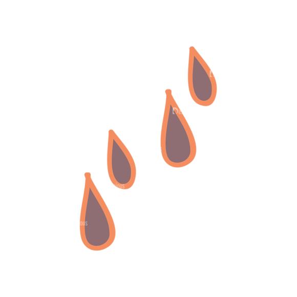 Artist Doodle Vector Set 2 Vector Drops 06 Clip Art - SVG & PNG vector
