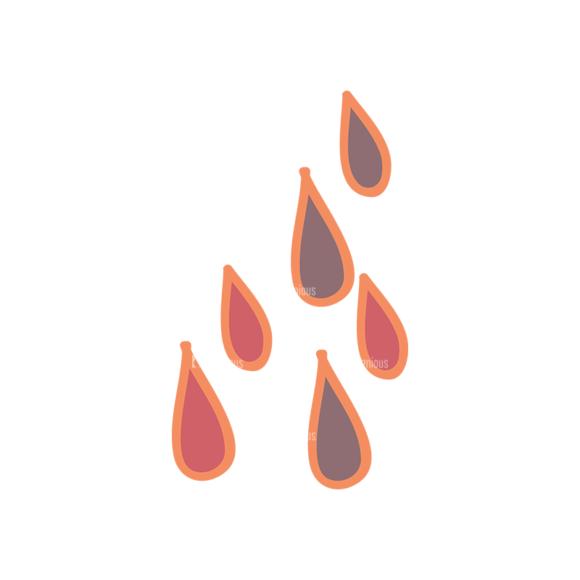 Artist Doodle Vector Set 2 Vector Drops 52 Clip Art - SVG & PNG vector
