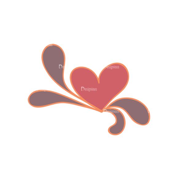 Artist Doodle Vector Set 2 Vector Heart 51 Clip Art - SVG & PNG vector
