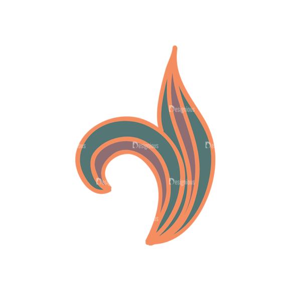 Artist Doodle Vector Set 2 Vector Leaf 24 Clip Art - SVG & PNG leaf