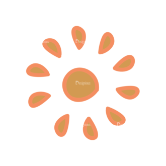 Artist Doodle Vector Set 2 Vector Sun 27 Clip Art - SVG & PNG vector
