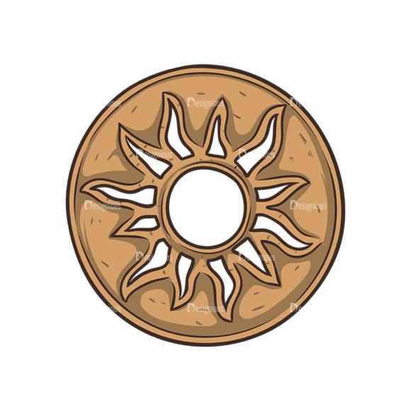 Aztec Vector 1 5 Clip Art - SVG & PNG vector