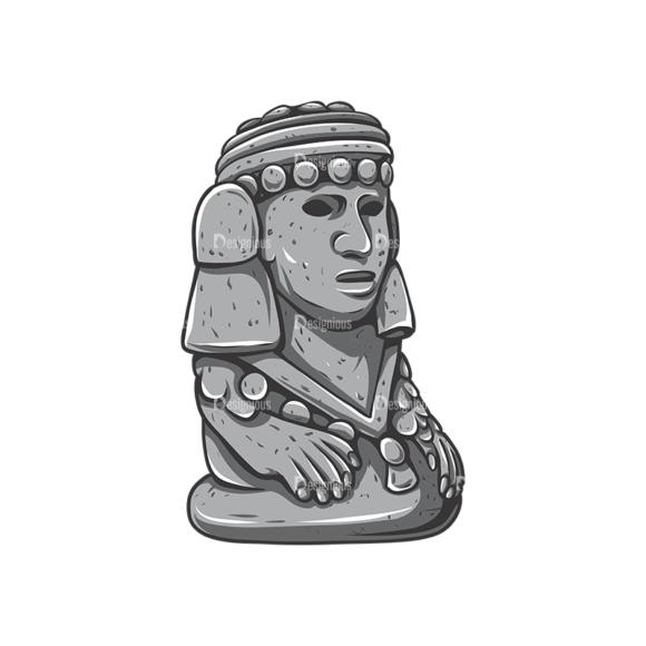 Aztec Vector 2 1 Clip Art - SVG & PNG vector