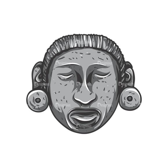 Aztec Vector 2 4 Clip Art - SVG & PNG vector