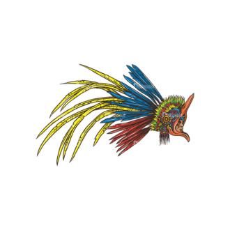 Aztec Warriors Pack 1 1 Preview Clip Art - SVG & PNG vector