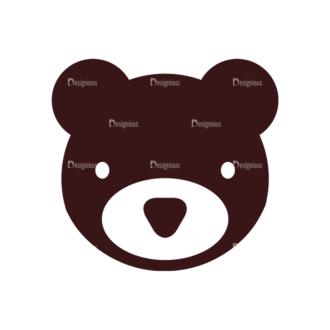 Baby Vector Elements Set 1 Vector Bear Clip Art - SVG & PNG vector