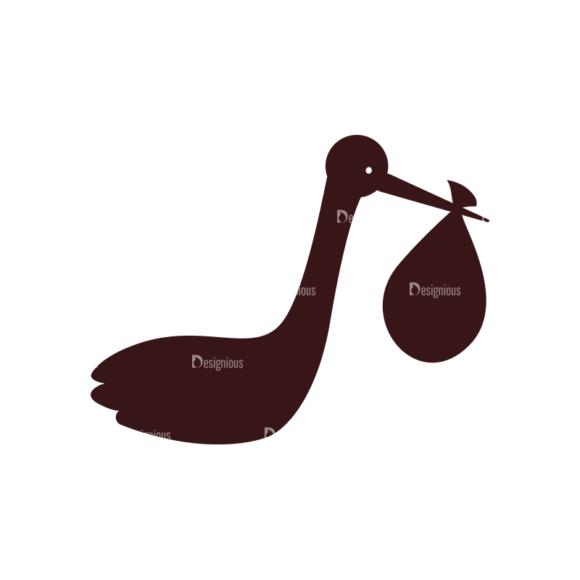 Baby Vector Elements Set 1 Vector Duck 06 Clip Art - SVG & PNG vector