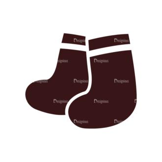 Baby Vector Elements Set 1 Vector Socks Clip Art - SVG & PNG vector