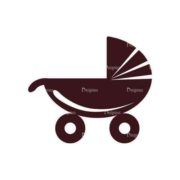 Baby Vector Elements Set 1 Vector Stroller baby vector elements set 1 vector stroller