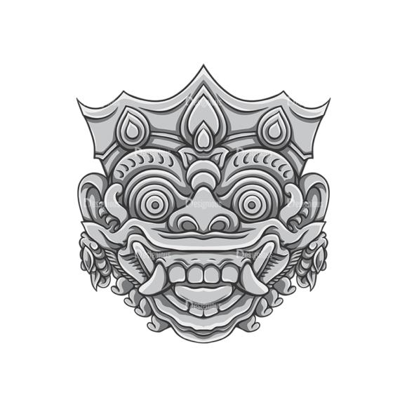 Bali Demons Vector 1 9 bali demons vector 1 9 preview