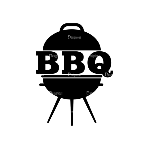 Bbq Grill Vector Elements Vector Logo 14 bbq grill vector elements vector logo 14