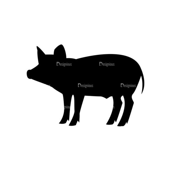 Bbq Grill Vector Elements Vector Pig Clip Art - SVG & PNG vector