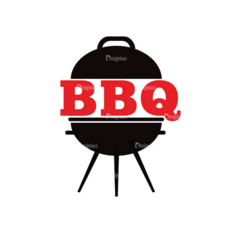 Bbq Vector Set 2 Vector Logo 05 Clip Art - SVG & PNG vector