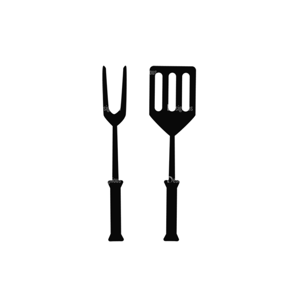 Bbq Vector Set 2 Vector Utensils 10 Clip Art - SVG & PNG vector