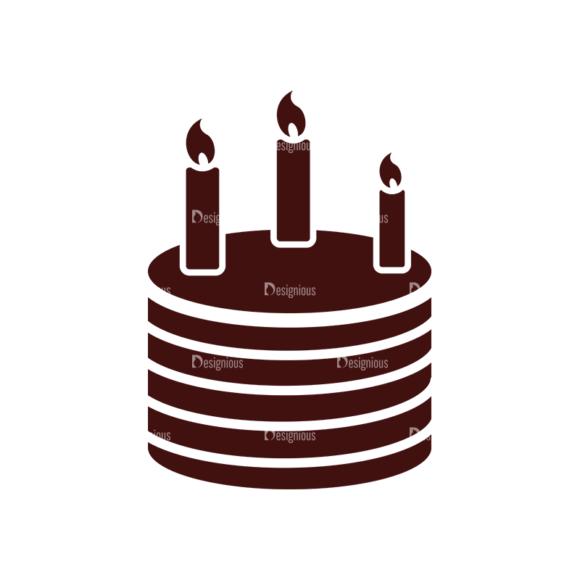 Birthday Vector Elements Set 1 Vector Cake 11 1