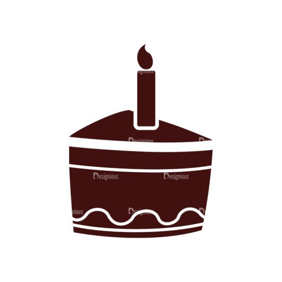 Birthday Vector Elements Set 1 Vector Cake 16 birthday vector elements set 1 vector cake 16
