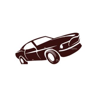 Cars Vector Elements Set 1 Vector Car 01 Clip Art - SVG & PNG vector