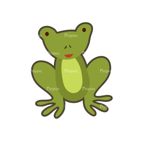 Cartoon Animals Vector Set 1 Vector Frog cartoon animals vector set 1 vector frog