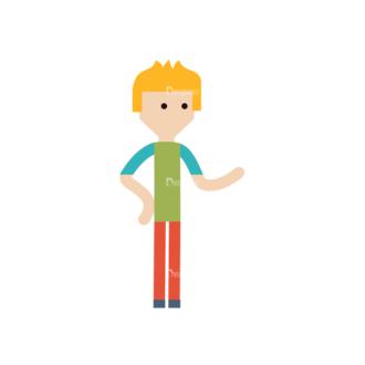 Cartoon Characters Vector Set 3 Vector Character 03 Clip Art - SVG & PNG vector