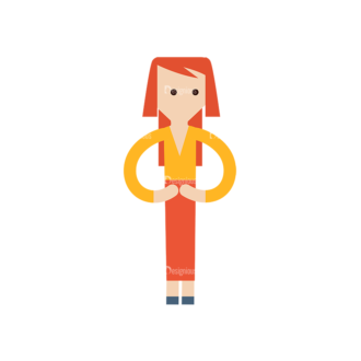 Cartoon Characters Vector Set 3 Vector Character 21 Clip Art - SVG & PNG vector