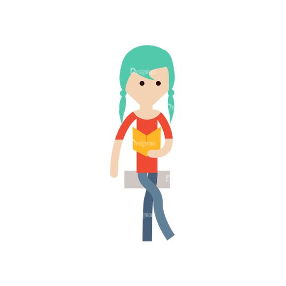 Cartoon Characters Vector Set 3 Vector Character 22 Clip Art - SVG & PNG vector