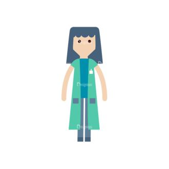 Cartoon Characters Vector Set 3 Vector Character 27 Clip Art - SVG & PNG vector