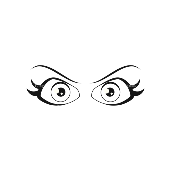 Cartoon Eyes Set 1 Vector Eyes 04 cartoon eyes set 1 vector eyes 04