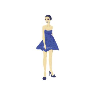 Cartoon Girls Pack 9 Preview Clip Art - SVG & PNG vector