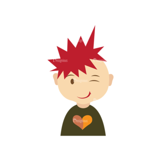 Characters Design Creation Kitt Vector Character 16 Clip Art - SVG & PNG vector