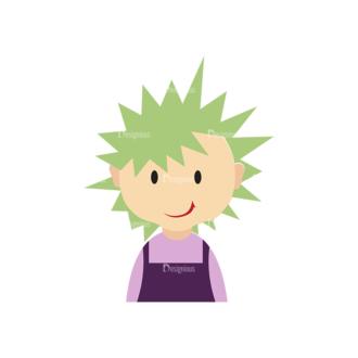 Characters Design Creation Kitt Vector Character 97 Clip Art - SVG & PNG vector