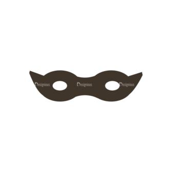 Characters Design Creation Kitt Vector Mask Clip Art - SVG & PNG vector
