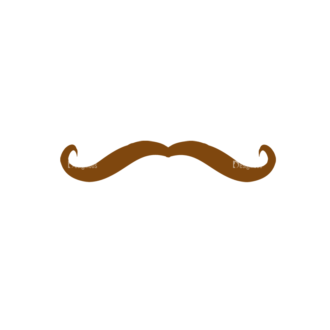 Characters Design Creation Kitt Vector Mustache 87 Clip Art - SVG & PNG vector
