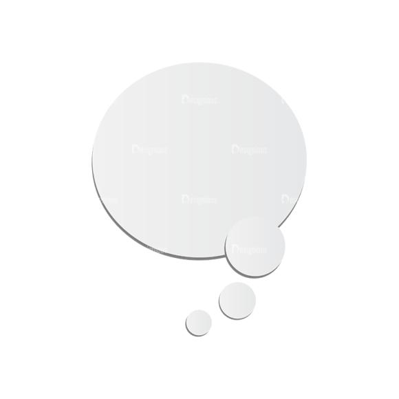 Chat Bubbles Vector Speech Bubble 02 chat bubbles vector speech bubble 02
