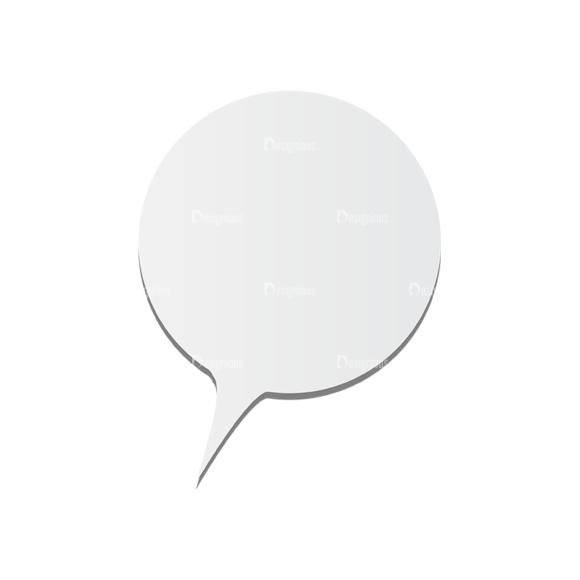 Chat Bubbles Vector Speech Bubble 05 Clip Art - SVG & PNG vector