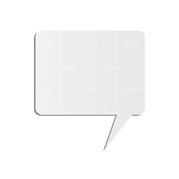 Chat Bubbles Vector Speech Bubble 06 Clip Art - SVG & PNG vector