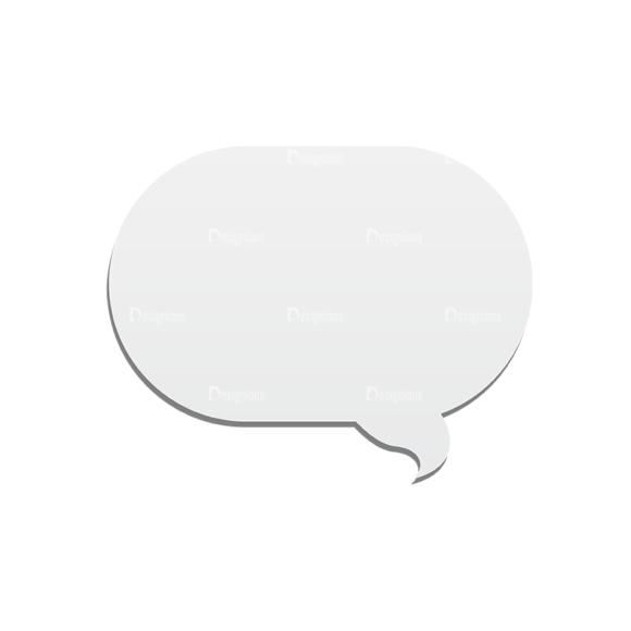 Chat Bubbles Vector Speech Bubble 30 Clip Art - SVG & PNG vector