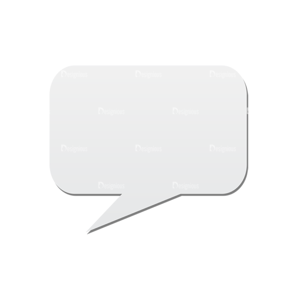 Chat Bubbles Vector Speech Bubble 33 Clip Art - SVG & PNG vector